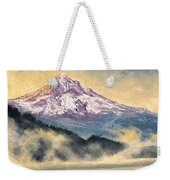 View Of Mt Hood Weekender Tote Bag