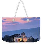 View Of National Observatory Of Athens In The Evening, Athens, G Weekender Tote Bag