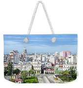 View Of Old Town Havana Weekender Tote Bag