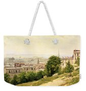 View Of Paris Weekender Tote Bag
