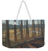 View Of Parkers Creek Weekender Tote Bag