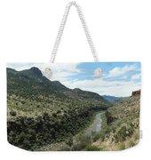 View Of Salt River Canyon Weekender Tote Bag