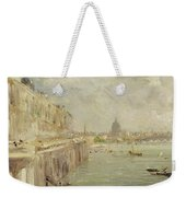View Of Somerset House Terrace And St. Paul's Weekender Tote Bag