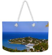 View Of St. Lucia Weekender Tote Bag