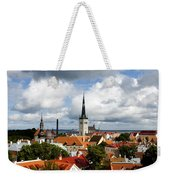 View Of St Olav's Church Weekender Tote Bag by Fabrizio Troiani