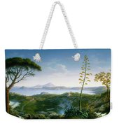 View Of The Bay Of Pozzuoli Weekender Tote Bag