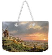 View Of The Butte Montmartre Weekender Tote Bag