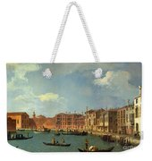 View Of The Canal Of Santa Chiara Weekender Tote Bag