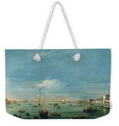 View Of The Giudecca Canal And The Zatter Weekender Tote Bag