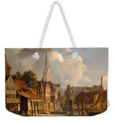 View Of The Little Alster Weekender Tote Bag