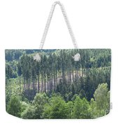 View Of The Mixed Forest Weekender Tote Bag