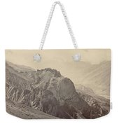 View Of The Mountains Of The Himalayas, Samuel Bourne, 1866 Weekender Tote Bag