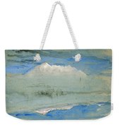 View Of The Old Man At Coniston As Seen From Brantwood House Weekender Tote Bag