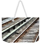 View Of The Railway Track  Weekender Tote Bag by Lanjee Chee