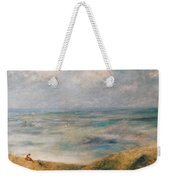 View Of The Sea Guernsey Weekender Tote Bag