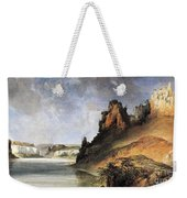 View Of The Stone Walls Weekender Tote Bag