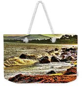 View Of The Sugarloaf Mountain From Killiney, 1b Weekender Tote Bag