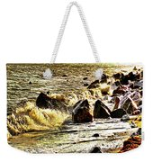 View Of The Sugarloaf Mountain From Killiney Weekender Tote Bag