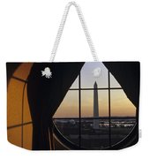 View Of The Washington Monument Weekender Tote Bag
