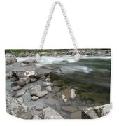 View Of The Wenatchee River Weekender Tote Bag