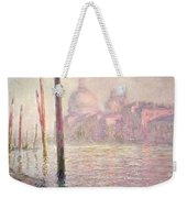 View Of Venice Weekender Tote Bag