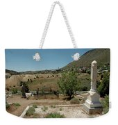 View Of Virginia City Nv From The Final Resting Place Weekender Tote Bag