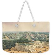 View Of Washington Dc Weekender Tote Bag