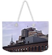 View Of Water Tank From High Line Park Weekender Tote Bag