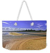 View Of Wollumboola Lake From Sand Dunes Weekender Tote Bag