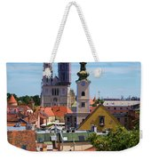 View Of Zagreb Weekender Tote Bag