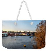 View On A River Weekender Tote Bag