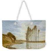 View On The Seine,  Harp Of The Winds , Homer Dodge Martin Weekender Tote Bag