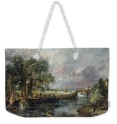 View On The Stour Near Dedham Weekender Tote Bag