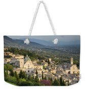 View Over Assisi Weekender Tote Bag