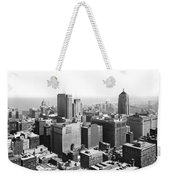 View Over Downtown Chicago Weekender Tote Bag
