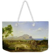 View Over Palermo Weekender Tote Bag by Carl Rottmann