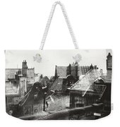 View Over Rooftops In Amsterdam  George Hendrik Breitner  C  1890    . 1910 Weekender Tote Bag