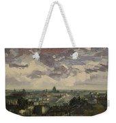 View Over Rooftops Of Paris Weekender Tote Bag