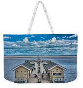 View Over The Pier Weekender Tote Bag