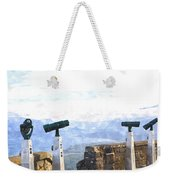 View The Columbia At The Vista House Weekender Tote Bag