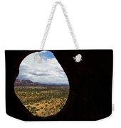View Through A Portal, Sedona, Arizona Weekender Tote Bag