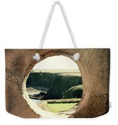View Through The Wall. Weekender Tote Bag