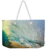 View Through Wave Tube Weekender Tote Bag