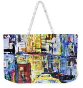 View To Manhattan Weekender Tote Bag