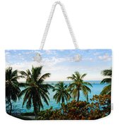 View To The 7 Mile Bridge Weekender Tote Bag