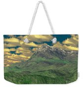 View To The Mountain Weekender Tote Bag