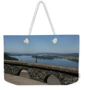 View To The West Of Crown Point Weekender Tote Bag
