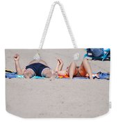 Views At The Beach Weekender Tote Bag