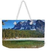 Views From Lake Louise Alberta  Weekender Tote Bag