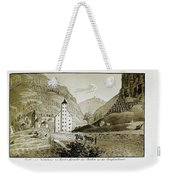 Views Of Switzerland And The Border Of Italy Weekender Tote Bag